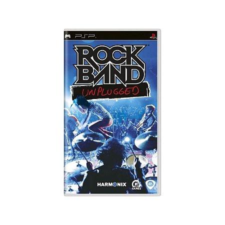 Rock Band Unplugged (Sem Capa) - Usado - PSP