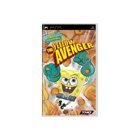 SpongeBob SquarePants The Yellow Avenger - Usado - PSP
