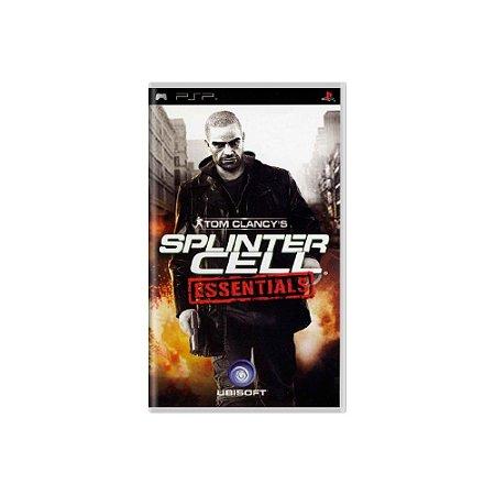 Splinter Cell Essentials - Usado - PSP