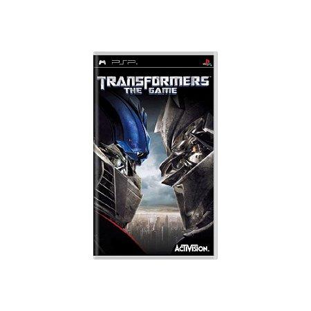 Transformers The Game - Usado - PSP
