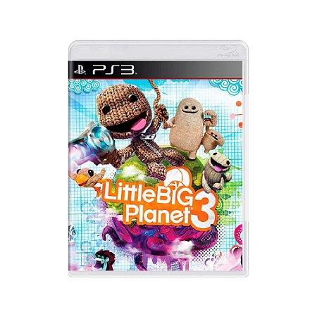 LittleBigPlanet 3 - Usado - PS3
