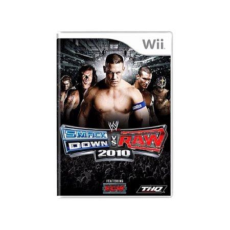 WWE Smackdown vs Raw 2010 - Usado - Wii