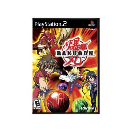 Bakugan Battle Brawlers - Usado - PS2