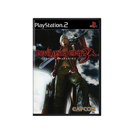Devil May Cry 3 Dante's Awakening - Usado - PS2