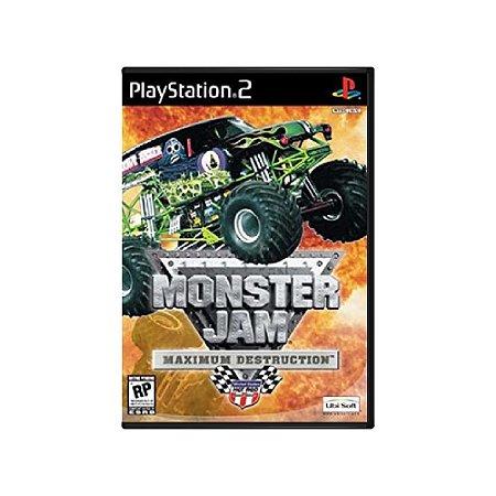 Monster Jam Maximum Destruction - Usado - PS2