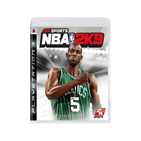 NBA 2K9 - Usado - PS3