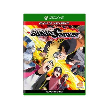 Naruto to Boruto Shinobi Striker - Usado - Xbox One