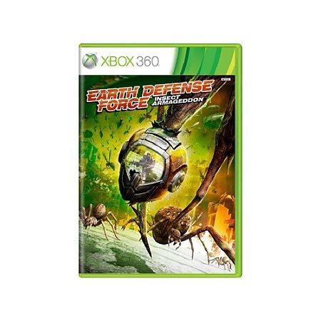 Earth Defense Force Insect Armageddon - Usado - Xbox 360