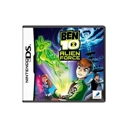 Ben 10 Alien Force - Usado - DS