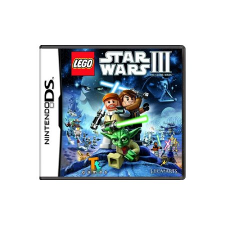 Lego Star Wars III The Clone Wars (Sem Capa) - Usado - DS