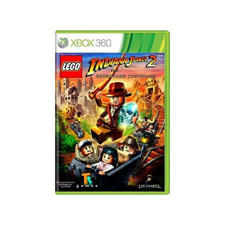 LEGO Indiana Jones 2 The Adventure Continues Usado Xbox 360