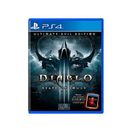 Diablo III Reaper of Souls - Usado - PS4