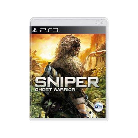 Sniper Ghost Warrior - Usado - PS3