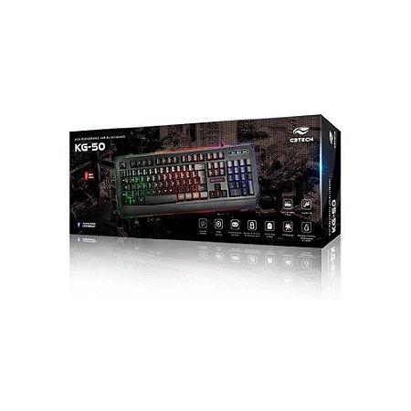 Teclado Gamer KG-50BK - C3Tech
