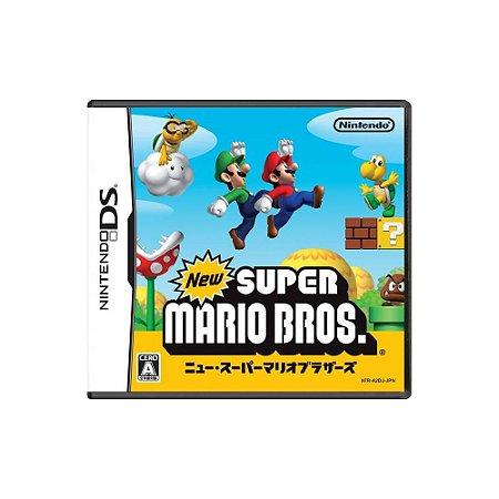 New Super Mario Bros JPN (Sem Capa) - Usado - DS