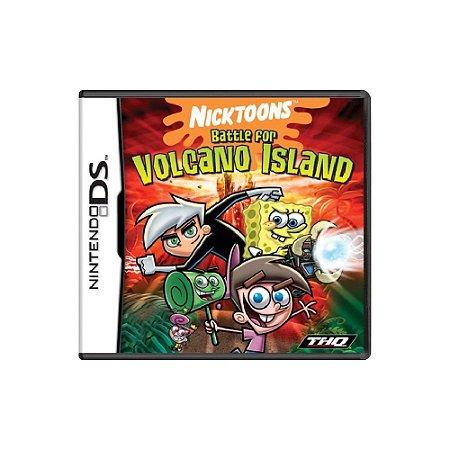 Nicktoons Battle for Volcano Island (Sem Capa) - Usado - DS