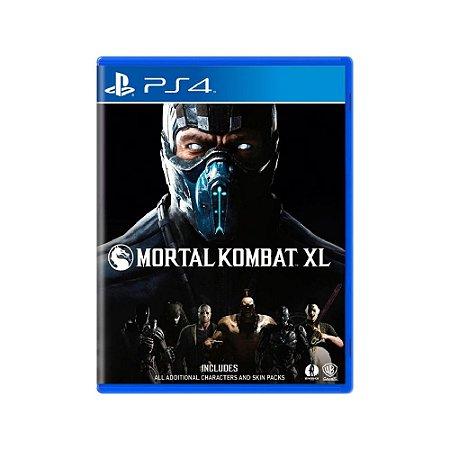 Mortal Kombat XL - Usado - PS4