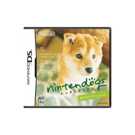Nintendogs Shiba Inu & Friends JPN (Sem Capa) - Usado - DS