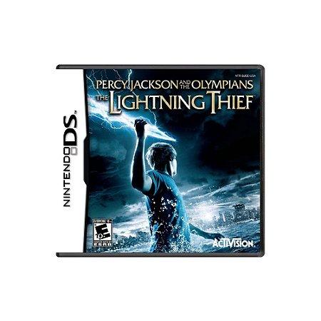 Percy J. And The Olympians Lightning Thief Sem Capa Usado DS