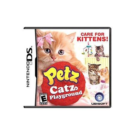 Petz Catz Playground (Sem Capa) - Usado - DS