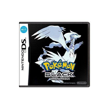 Pokémon Black Version - Usado - DS
