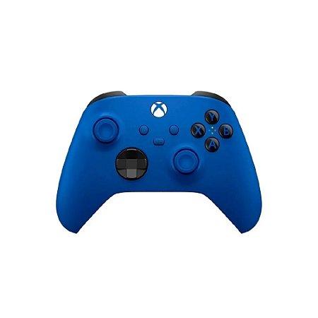 Controle Sem Fio Xbox Series Shock Blue - Microsoft