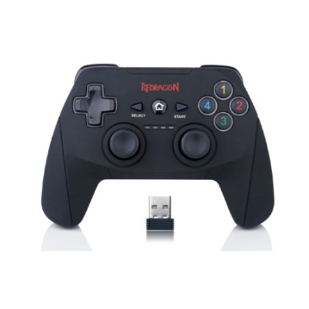 Controle Redragon Harrow PC/PS3 (Sem Fio) - G808