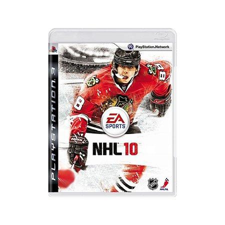 NHL 10 - Usado - PS3