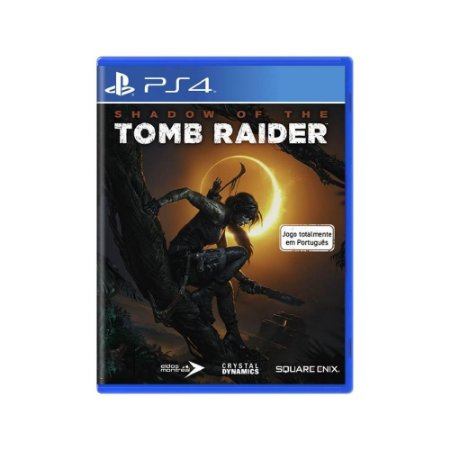 Shadow of the Tomb Raider - Usado - PS4