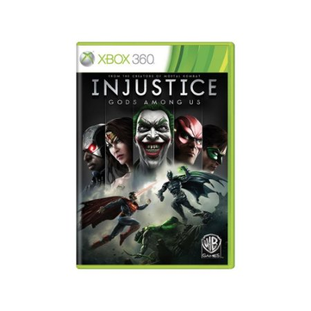 Injustice Gods Among US - Usado - Xbox 360