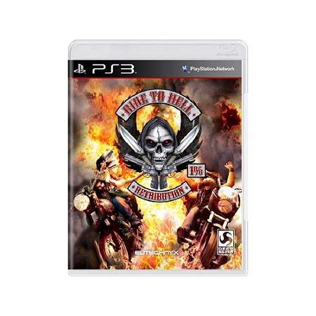 Ride To Hell Retribution - Usado - PS3