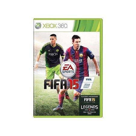FIFA 15 - Usado - Xbox 360