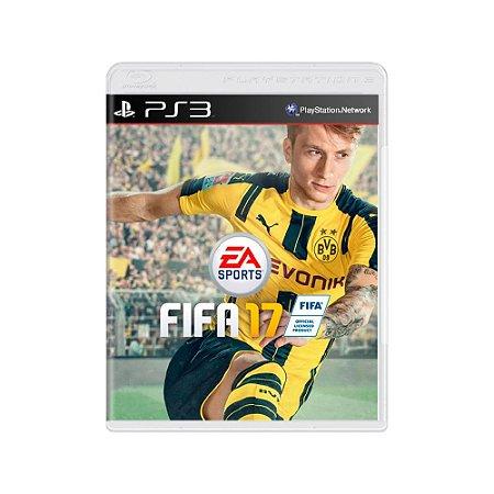 Fifa 17 - Usado - PS3