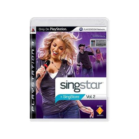 SingStar Vol. 2 - Usado - PS3