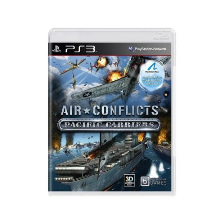 Air Conflicts Pacific Carriers - Usado - PS3