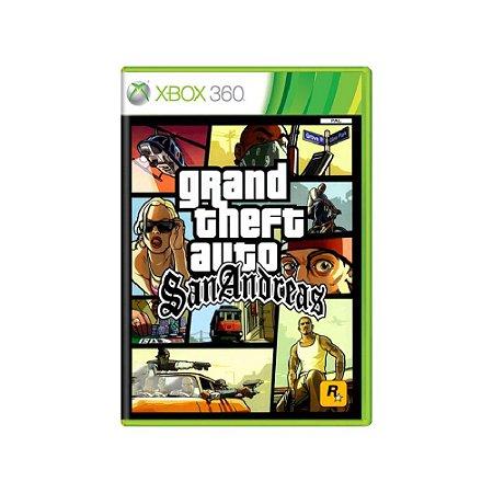 Grand Theft Auto San Andreas - Usado - Xbox 360