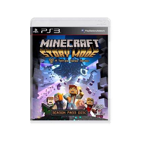 Minecraft Story Mode - Usado - PS3