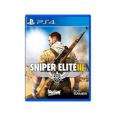 Sniper Elite III - Usado - PS4