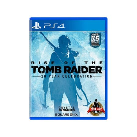 Rise of the Tomb Raider (20 Year Celebration) - Usado - PS4