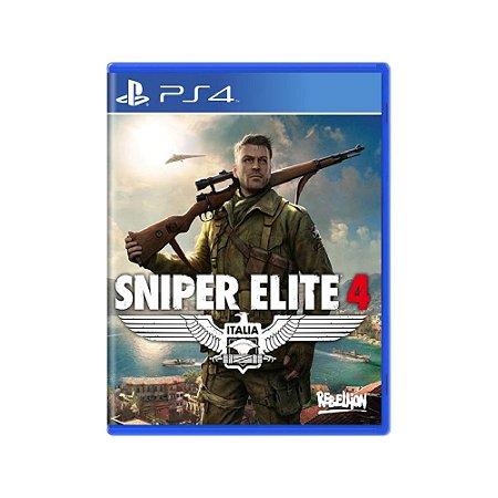 Sniper Elite 4 - Usado - PS4