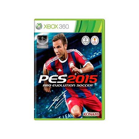 Pro Evolution Soccer 2015 (PES 15) - Usado - Xbox 360