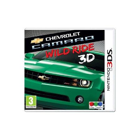 Chevrolet Camaro Wild Ride (Sem Capa) Europeu - Usado - 3DS