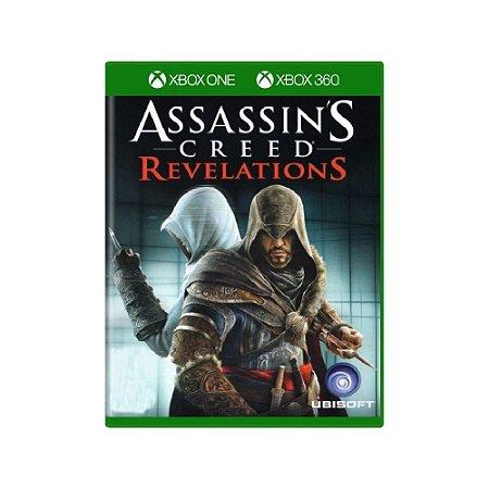 Assassin's Creed Revelations - Usado - Xbox One e Xbox 360