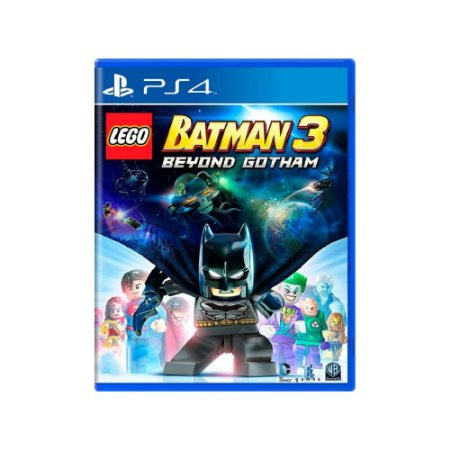 LEGO Batman 3 Beyond Gotham - Usado - PS4