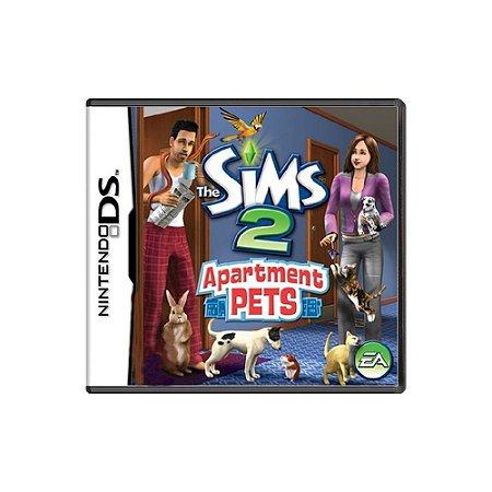The Sims 2 Apartment Pets (Sem Capa) - Usado - DS