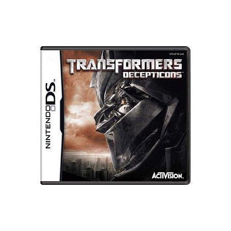 Transformers Decepticons - Usado - DS