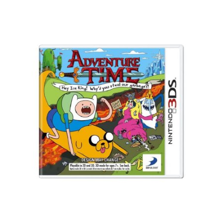 Adventure Time Hey Ice King! (Sem Capa) - Usado - 3DS