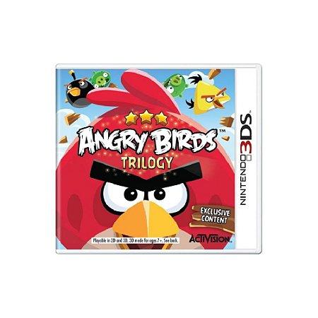 Angry Birds Trilogy - Usado - 3DS