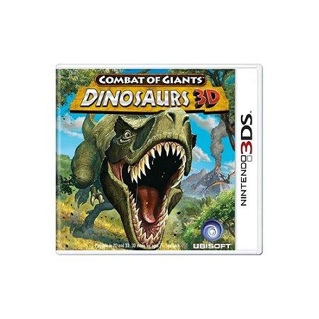 Combat of Giants Dinosaurs 3D (Sem Capa) - Usado - 3DS
