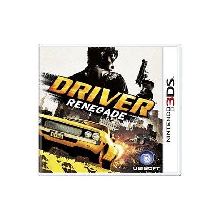 Driver Renegade - Usado - 3DS
